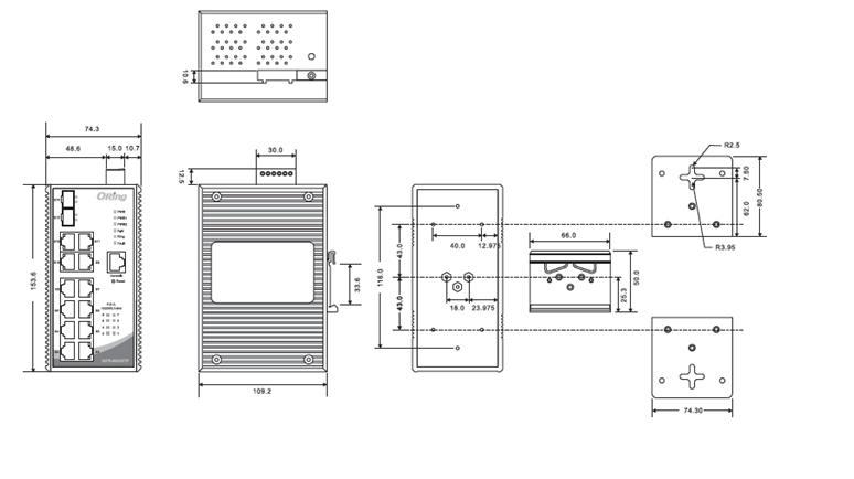 IGPS-9842GTP网管型冗余以太网交换机,支持PoE供电,含8个10/100/1000Base-T(X) PSE端口,4个10/100/1000Base-T(X)电口和2个100/1000Base-X SFP端口,符合EN50155标准。支持多种网络冗余协议,O-Ring (自愈时间<30ms @ 250台交换机)、O-Chain和MSTP (RSTP/STP),当网络故障时可以迅速地恢复,保证重要应用的不间断通讯。IGPS-9842GTP符合IEEE802.