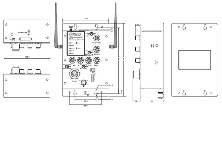 安全继电器psr-esd-30接线图